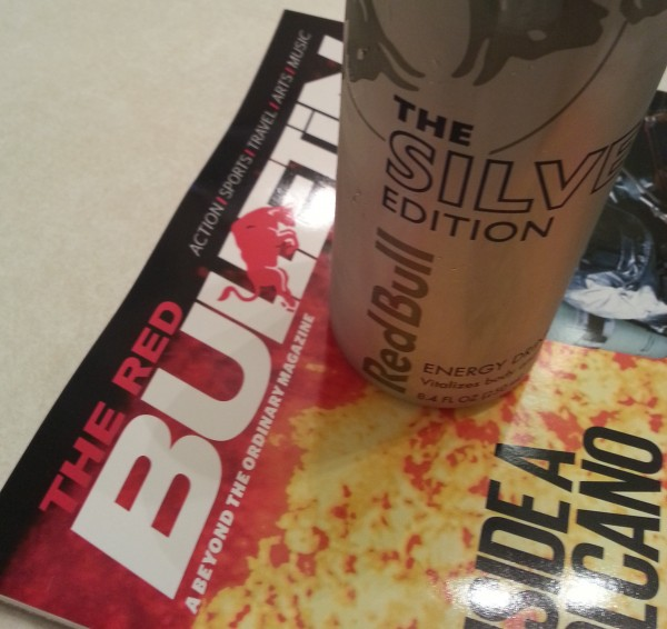 Starting my morning with some light reading and a new Red Bull Edition!